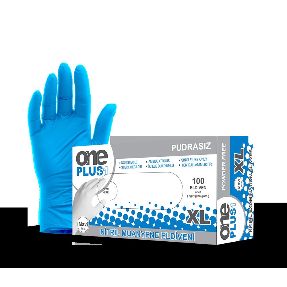 Nitrile Powder-Free Examination Gloves Blue