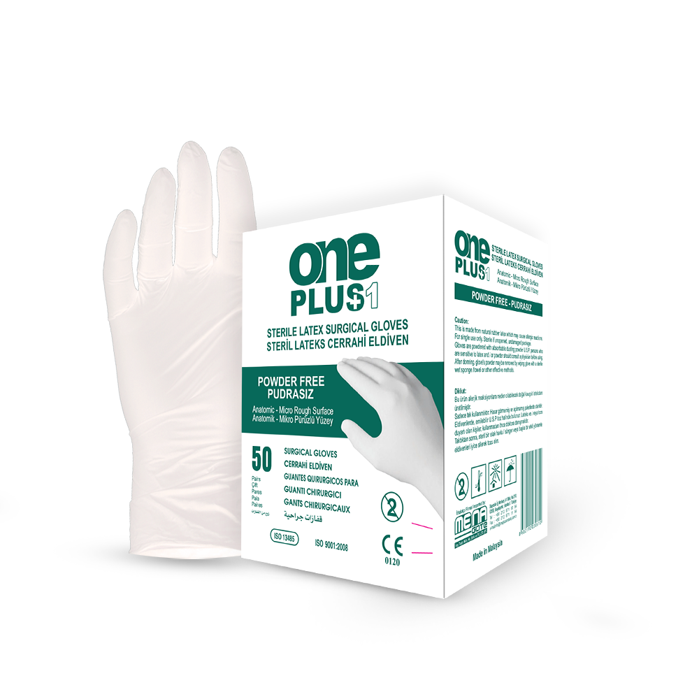 Latex Surgical Gloves Powder-Free