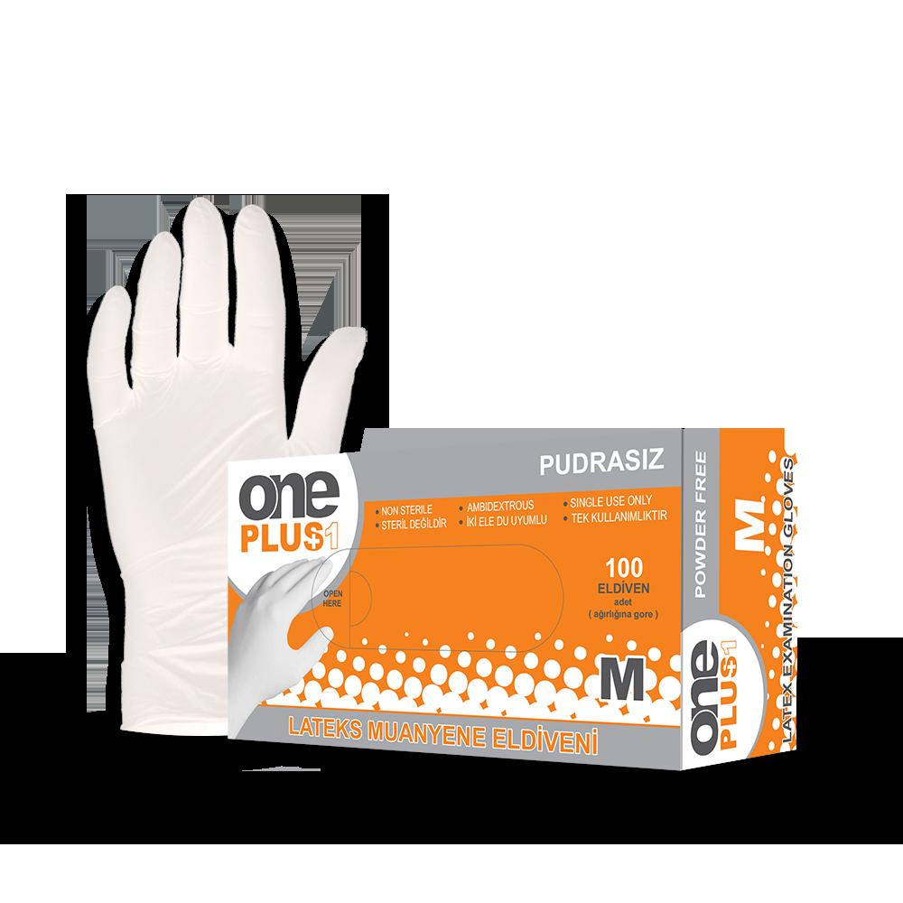 Latex Examination Gloves Powder-Free
